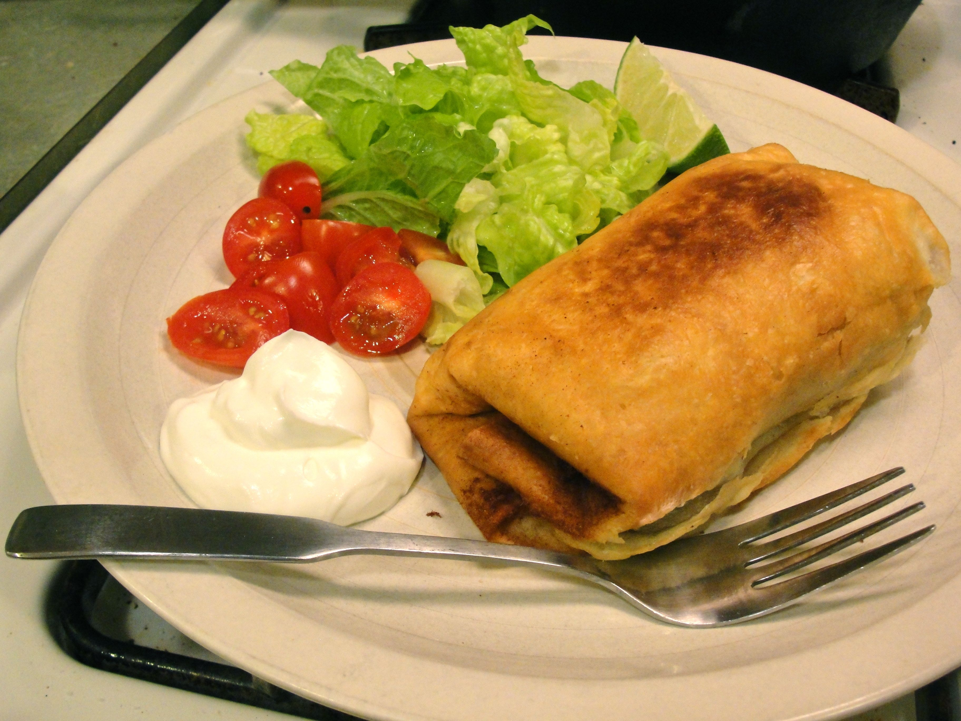 Baked Chimichangas - chi chis recipe