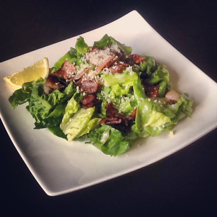 Caesar salad recipe with vinaigrette dressing