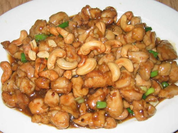 cashew chicken - figure friendly