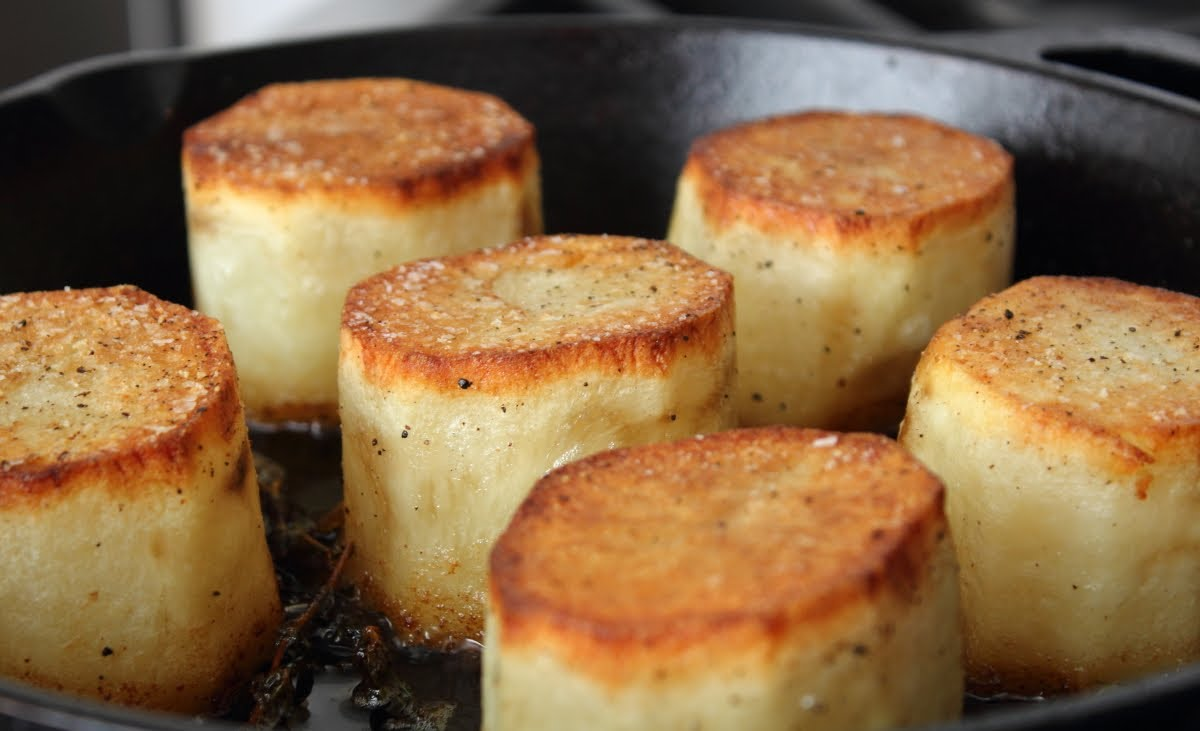 Elegant fondant potatoes