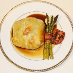 Beef Wellington with Bordelaise Wine Sauce