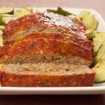 Balsamic Glazed Basil Turkey Meatloaf