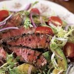 Summer Steak Salad with Tomato Vinaigrette