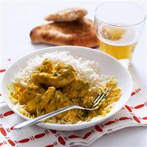 Coconut curry chicken with recipe