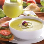 Cream of Zucchini Soup, Fast & Easy