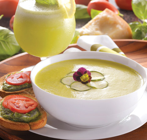 Cream of Zucchini Soup - with recipe