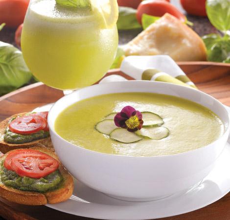 Cream of Zucchini Soup - with recipe