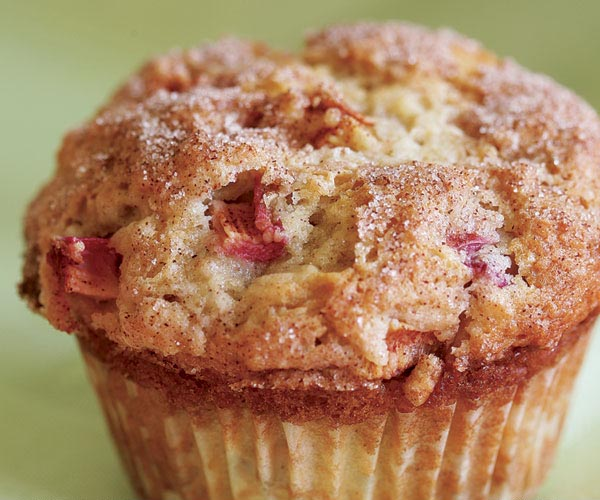 Rhubarb Muffin - with Recipe