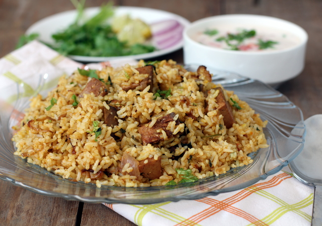 chicken biryani with recipe