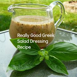 Greek Salad Dressing Recipe