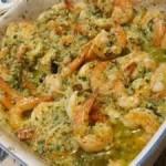 Shrimp Scampi Dijon