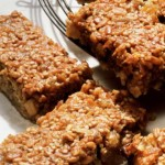 Oatmeal Applesauce Banana Breakfast Bars