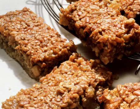 Applesauce banana breakfast bar recipe