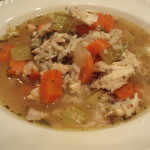 Linda's Chicken Barley Soup