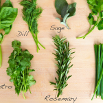 Substituting Dried Herbs for Fresh – Conversion Chart