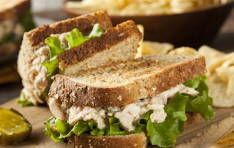tuna salad recipe made with cottage cheese