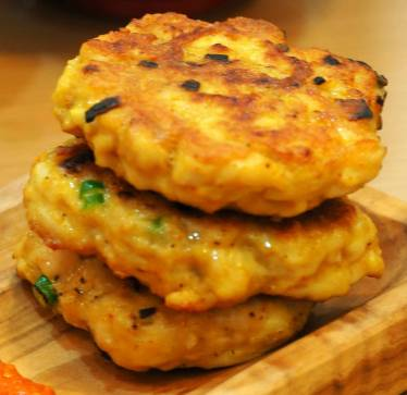 Curry chicken patties - clean eating