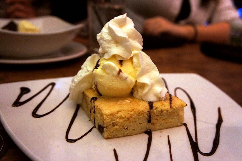 Moxies White Chocolate Brownie