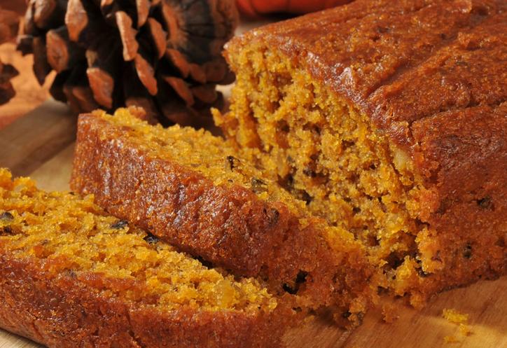 Clean Eating Pumpkin Bread