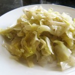 Clean Eating Cooked Cabbage