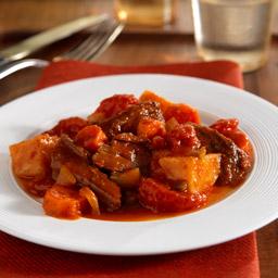 Slow cooker pot roast in tomatoe sauce